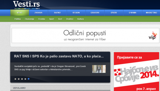 www.vesti.rs ulaze u ABC web odit